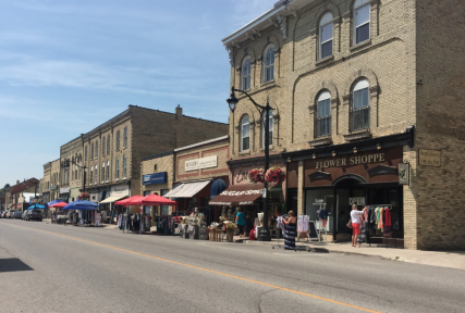 Come enjoy Sidewalk Sale Days in Exeter, Ontario!