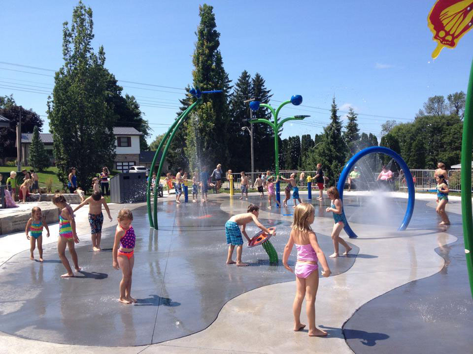 Exeter Splash Pad, Exeter Splash Zone